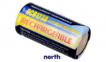 CR123 Bateria | Akumulator 3V 500mAh do kamery
