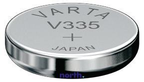 SR512SW | 335 | S60 Bateria srebrowa 1.55V 5mAh Varta
