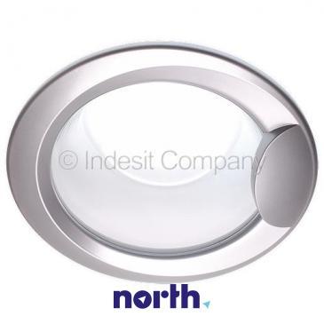 Okno | Drzwi kompletne bez zawiasów do pralki Indesit C00099930