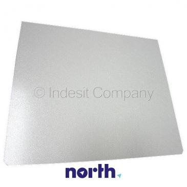 Szyba | Półka szklana chłodziarki (bez ramek) do lodówki Indesit C00076928