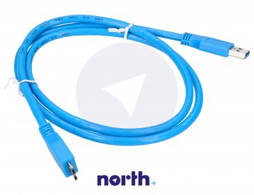 Kabel 1m USB A 3.0 - USB B micro (wtyk/ wtyk)