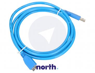 Kabel 1.8m USB A 3.0 - USB B micro (wtyk/ wtyk)