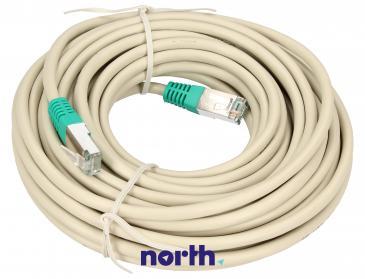 Kabel RJ-45 10m skrosowany (wtyk/ wtyk) | (cat 5e)