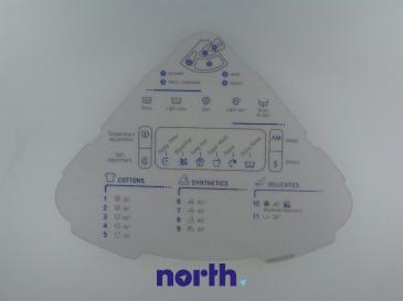 Pokrywa komory na proszek do pralki C00095412