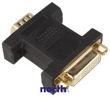 Adapter VGA - DVI (wtyk/ 24+5 gniazdo)