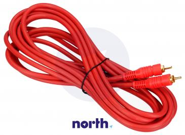 Kabel CINCH 5m (wtyk/wtyk)
