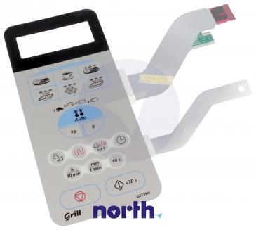 Klawiatura membranowa panelu sterowania do mikrofalówki Samsung DE3400115G