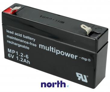 MP1,26 Akumulator UPS 6V 1200mAh Multipower (1szt.)