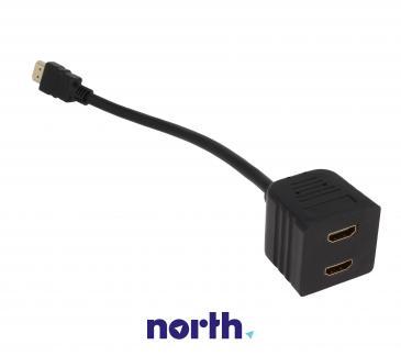 Rozgałęźnik HDMI 0.2m (wtyk/ wtyk x2) high quality
