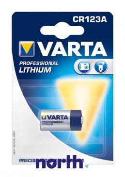 CR123A | DL123 | 123 Bateria CR123A litowa 3V 1600mAh Varta (1szt.)