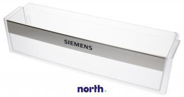 Balkonik | Półka na butelki na drzwi chłodziarki (dolna) do lodówki Siemens 00447353