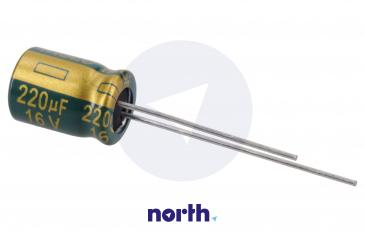 220uF | 16V Kondensator elektrolityczny 105°C 11mm/8mm