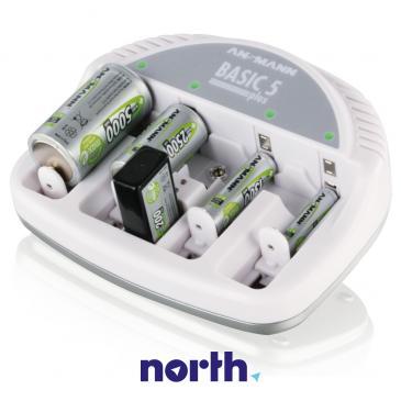 Ładowarka akumulatorów BASIC5PLUS R3/R6/R14/R20/6F22