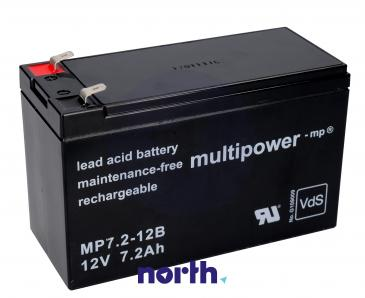 MP7,212B Akumulator UPS 12V 7200mAh Multipower (1szt.)