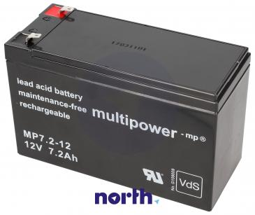 MP7,212 Akumulator UPS 12V 7200mAh Multipower (1szt.)