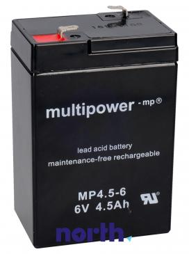 MP4,56 Akumulator UPS 6V 4500mAh Multipower (1szt.)