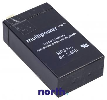 MP3,86 Akumulator UPS 6V 3800mAh Multipower (1szt.)