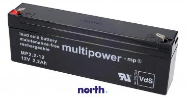 MP2,212 Akumulator UPS 12V 2200mAh Multipower (1szt.)