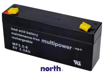 MP3,36 Akumulator UPS 6V 3300mAh Multipower (1szt.)