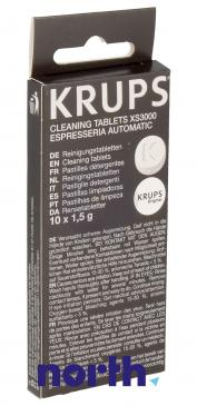 Preparat czyszczący (tabletki) XS3000 do ekspresu do kawy Krups XS300010