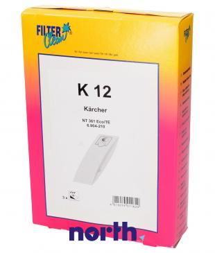 Worek do odkurzacza K12 Karcher 3szt. 000779K