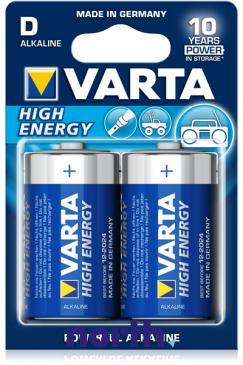 R20 | LR20 | MN1300 Bateria D alkaliczna 1.5V 12000mAh Varta (20szt.)