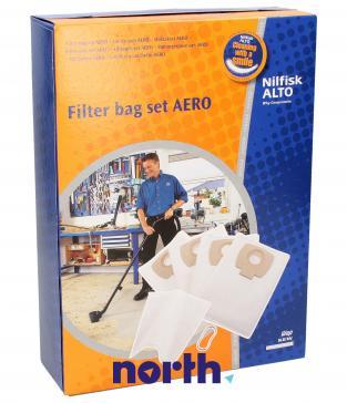 Worek do odkurzacza Aero Nilfisk 4szt. (+filtr) 302002404