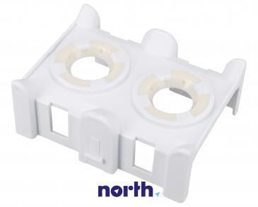 Mocowanie | Uchwyt kosza górnego z uszczelką do zmywarki Whirlpool 481253029431