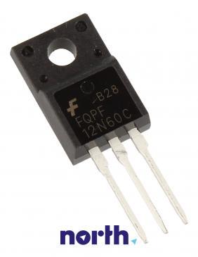 FQPF12N60C Tranzystor TO-220F (n-channel) 600V 12A 11MHz