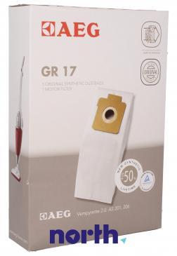 Worek do odkurzacza GR17 Electrolux 5szt. (+filtr) 9002564467