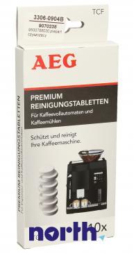 Preparat czyszczący (tabletki) TCF 10szt. do ekspresu do kawy AEG 9500788030