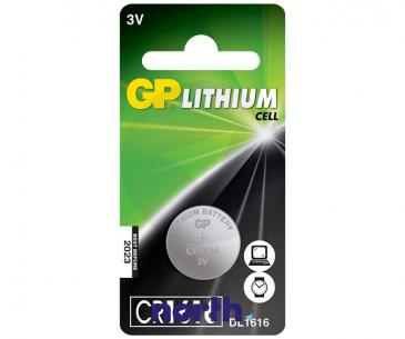 CR1616 | DL1616 | 1616 Bateria 3V 42mAh GP (10szt.)