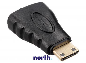 Adapter HDMI - HDMI mini (gniazdo/ mini wtyk)