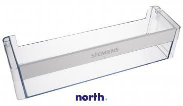 Balkonik | Półka na butelki na drzwi chłodziarki (dolna) do lodówki Siemens 00704405