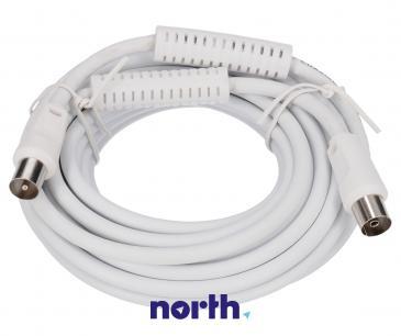 Kabel antenowy 5m (wtyk/gniazdo) standard