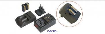 Ładowarka akumulatorów RCR123 CR123A + CR123 3,5V x2