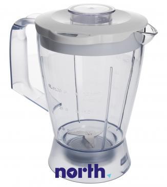 Dzbanek | Pojemnik CRP574 blendera kompletny do robota kuchennego Philips 420306550480