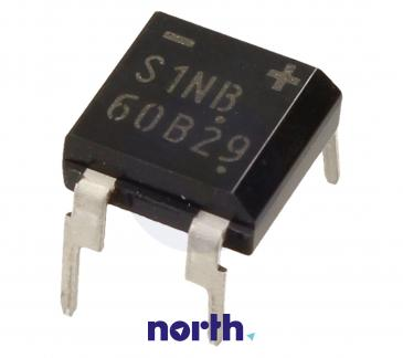 S1NB60 Mostek prostowniczy 600V 1A DIL