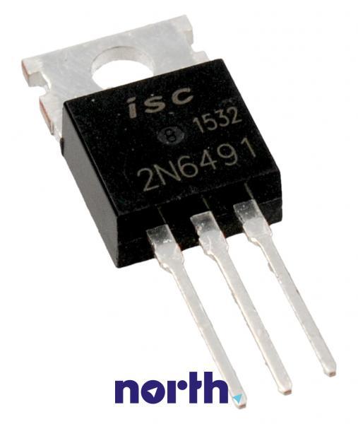 2N6491 Tranzystor TO-220AB (pnp) 80V 15A 5MHz,0