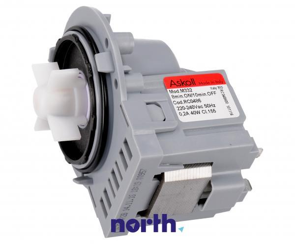 Silnik pompy odpływowej M231 do pralki 480181701068,0