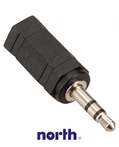 Adapter JACK 3.5mm mono - JACK (gniazdo/3.5mm stereo wtyk) standard,0