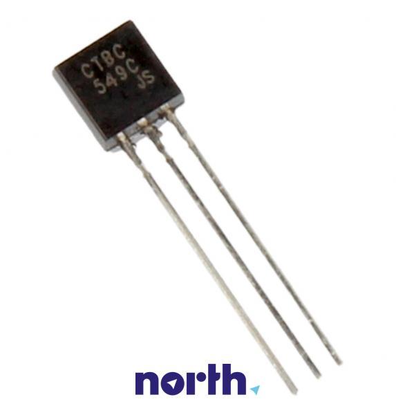 BC549C Tranzystor TO-92 (npn) 30V 100mA 100MHz,0