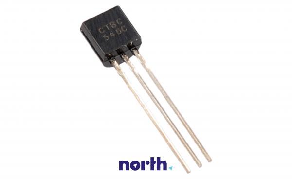 BC546C Tranzystor TO-92 (npn) 65V 100A 300MHz,0