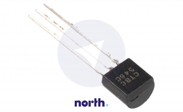 BC546C Tranzystor TO-92 (npn) 65V 100A 300MHz,1