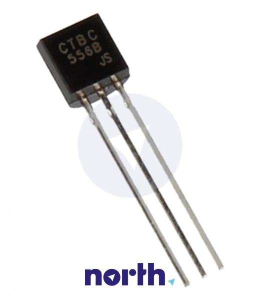 BC556B Tranzystor TO-92 (pnp) 65V 0.2A 150MHz,0