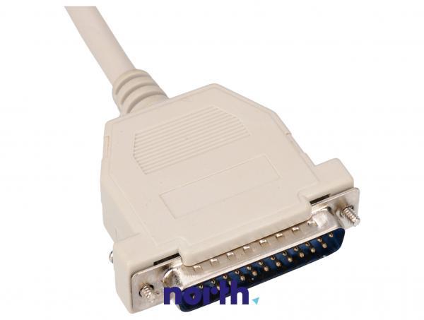 Kabel LPT 25 pin 2m (wtyk/ wtyk) standard,1