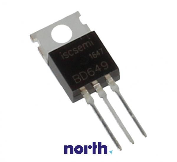 BD649 Tranzystor TO-220 (npn) 100V 8A,0