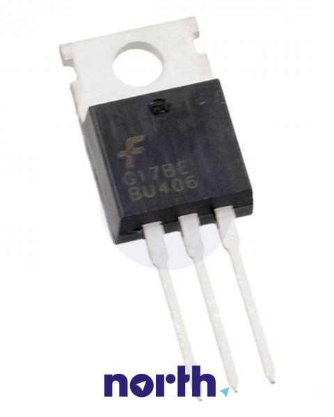 BU406 Tranzystor TO-220 (npn) 200V 7A 10MHz,0