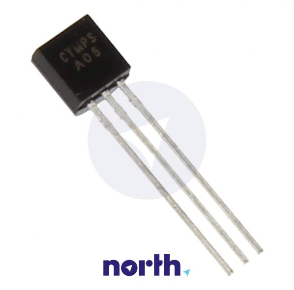 MPSA06 Tranzystor TO-92 (npn) 80V 0.5A 100MHz,0