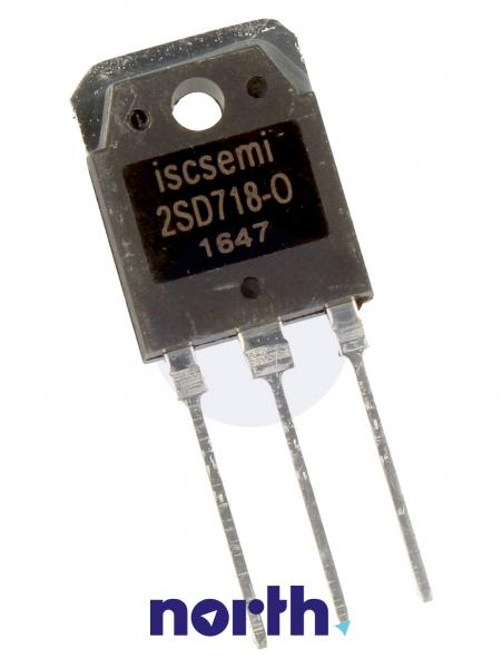 2SD718 Tranzystor TO-3P (npn) 120V 8A 10MHz,0